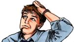 head-scratching